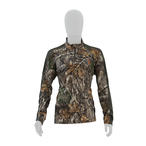 Element Outdoors Drive Series 1/4 Zip Performance Shirt in Realtree EDGE Camo
