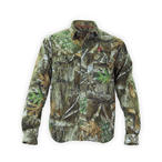 Thiessens V1 Whitetail Lightweight Button Up Shirt in Realtree EDGE Camo