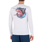 Realtree Men's Long-Sleeve Performance Fishing Graphic Tee Shirt