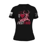 The Realtree Xtra Paradise Pink Fast Food Women's Tee