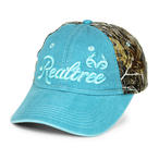 Paramount Outdoors Women's Realtree Camo Caribbean Blue Cap