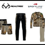 SportLife Brands Realtree Mens and Boys' Underwear, Sleepwear and Baselayers