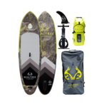"""Loon Paddle Company Realtree™ Fishing Hi-Viz Feather Light 10'8"""" Inflatable Paddle Board"""