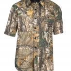 Walls Hunting Cape Back Short Sleeve Shirt in Realtree Xtra