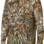 Field & Stream Men's Quarter Zip Tech Tee in Realtree EDGE