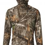 Field & Stream Men's Insect Repellant Balaclava Long Sleeve Shirt in Realtree EDGE