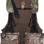 Ol' Tom Time & Motion Strap Turkey Vest in Realtree Xtra Green