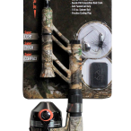 Micro Spincast Pocket Combo Tangle-Free Telescopic in Realtree EDGE