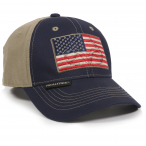 Outdoor Cap RT07A Realtree America Flag Hat