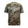 Staghorn Mens Short Sleeve Performance Tech Fishing Tee in Realtree WAV3