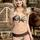 2014 Realtree Girl Camo Swimsuit with Brown Accents