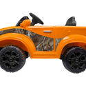 Realtree Truck 12V Orange Electric Ride On in Realtree Xtra Camo