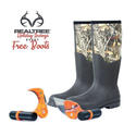 Raptor Razor Realtree Combo Gift Pack with Free Realtree Camo Boots