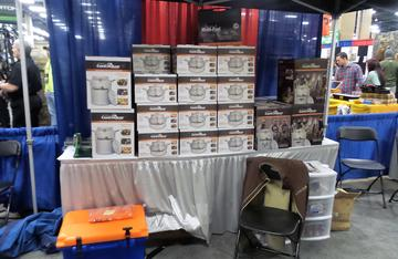 The folks from Can Cooker were just one of the many culinary related products at the 2016 NWTF Convention.