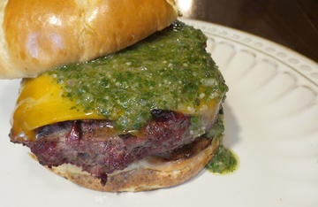 Blend the flavors of Argentina with ground elk for a burger that will be a sure crowd pleaser.