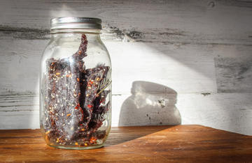 Just the right amount of sweet and heat make this venison jerky perfect for a long day in the stand.