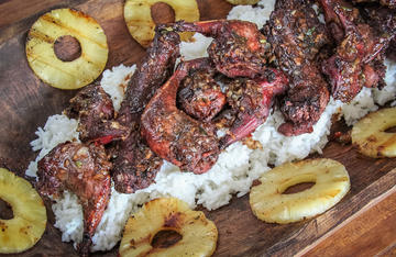 Slightly sweet and with a big spicy kick, this marinade is perfect for grilled squirrel.
