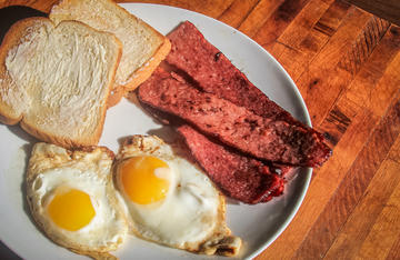 It's hard to beat a few slices of venison bacon paired with eggs and toast for breakfast.