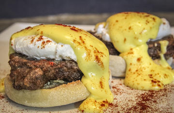 Substitute fried deer backstrap for the ham or Canadian bacon the next time you make Eggs Benedict.