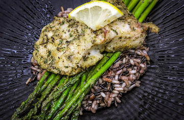 Sprinkle on some seasonings inspired by Greece and grill that catch for a restaurant-worthy meal