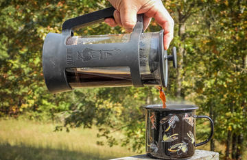 There are lots of ways to make a great cup of coffee at hunting camp. Just choose your favorite.