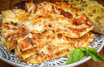 Traditional Italian-style lasagna made even better by the addition of ground elk meat.