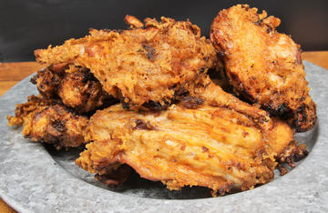 Crispy and packed full of flavor, this juicy fried rabbit will be a hit with the entire family.