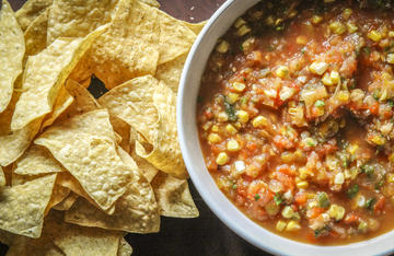 Grilled garden bounty makes the perfect salsa.