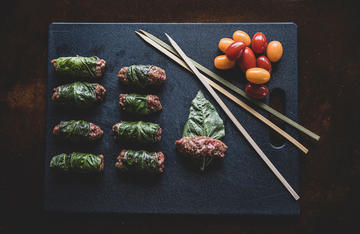 These fun kebabs with vibrant Vietnamese flavors work well as an appetizer, finger food, or entrée.