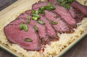 Miso paste is a great way to add lots of umami flavor to your grilled wild game.