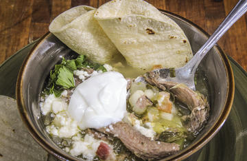 Serve this traditional Mexican soup with a sprinkle of cheese, a dollop of sour cream, and a few toasted corn tortillas for a wild turkey meal everyone will love.