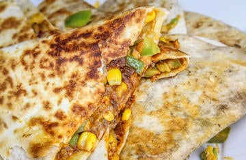 Slow-cooked duck in a spicy adobo sauce is the perfect filling for these quick and easy quesadillas