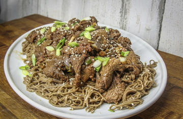 Grilling this elk bulgogi adds an extra layer of smoky flavor that you just can't get on the stovetop.