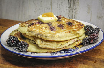 Adding fresh blackberries to your next batch of pancakes will take the flavor to a whole new level.