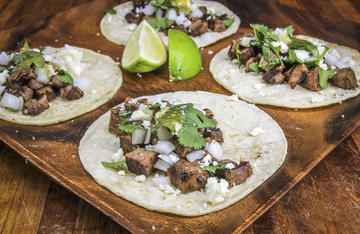Save the tongues from your wild game to make these traditional Mexican-style tacos.
