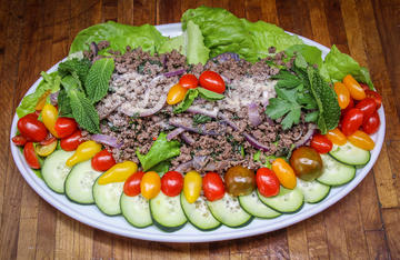 This delicious Thai-style salad is the perfect way to get your crew to eat something healthy made with wild game.