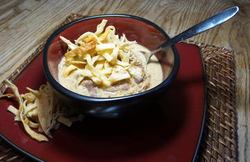 White chili is a delicious and easy way to use up leftover smoked turkey.