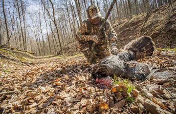 Hunters know the meat they eat is 100% natural. Photo credit Bill Konway