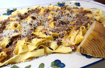 Traditional Italian Bolognese is just as good when made with ground venison.
