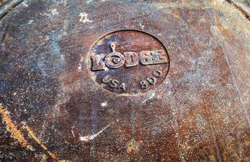 Keep an eye open for great deals on old cast iron. This easy method will have them ready to use in no time.