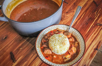 Serve this classic etouffee over white rice.