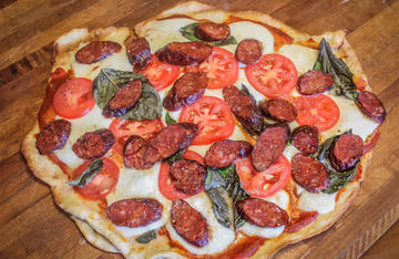 Use your homemade venison pepperoni in any recipe calling for commercially made pepperoni.