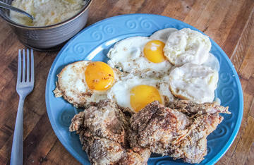 This quick and easy method for pan frying quail is perfect for a late morning breakfast after an early hunt.