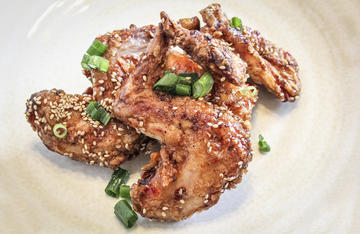 Spicy, sweet, and super crunchy, this Korean style recipe is perfect for rabbit.