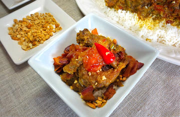 Country Captain is a traditional Georgia dish normally made with chicken, but squirrel makes a delicious substitute.