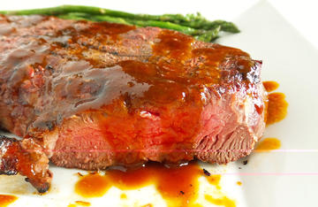 Spoon the sauce over grilled elk or venison steaks, or use it as a glaze when grilling waterfowl.