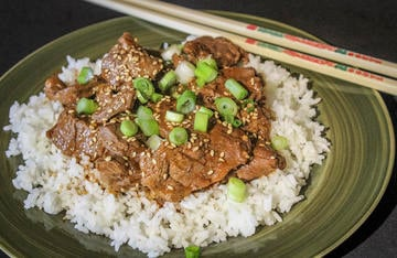 Serve the bulgogi over rice for a quick and easy meal.