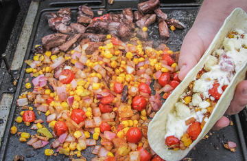 These tacos are the perfect way to make use of your venison hearts.