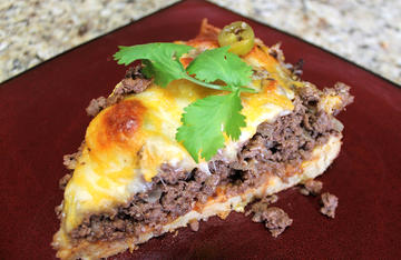 Tamale pie tastes just like tamales, but takes a fraction of the time to make.