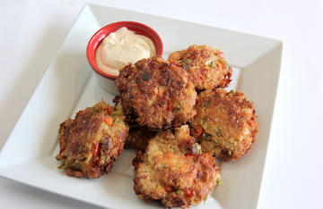 Similar to crab cakes, but with a smoky twist, these catfish cakes work equally well as an appetizer or a main course.